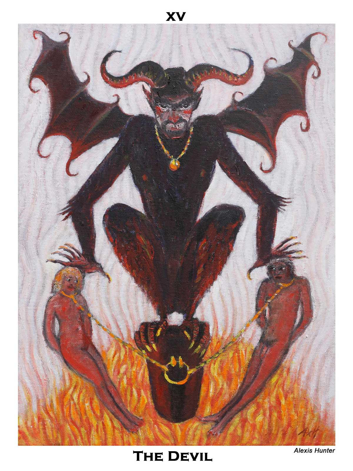The Devil by Alexis Hunter